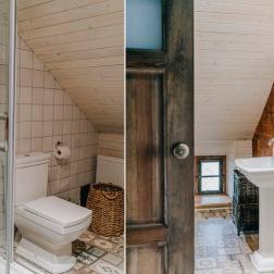łazienka w lazurowym