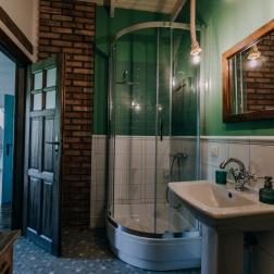 łazienka w szałwiowym